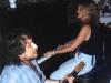 LIZ jamming with STEADY ROLLIN\' BOB MARGOLIN at Augusta Blues Week (Elkins, West Virginia)- July, 1994