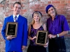 Boogie Woogie Hall Of Fame inductees ROB RIO, LIZ & DOC (Cincinnati, Ohio)