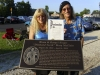 The unveiling of the DIAMOND TEETH MARY HISTORICAL MARKER (Huntington, WV)