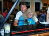 ROB RIO & LIZ PENNOCK at pre-festival piano party (Cincinnati, OH)