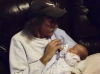 Doc with grandson JACKSON in Huntsville, AL (Dec., 2012)