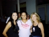 LIZ with LEON RUSSELL\'S daughters SUGAREE and TINA at Jannus Landing