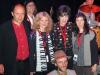 CHRISTOPH ROIS, DOC, LIZ, RENAUD PATIGNY, CAROLINE DAHL, & GENEVIEVE DARTEVELLE before show (Brussels, Belgium)