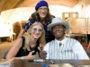 With PINETOP PERKINS at CINCY BLUES FESTIVAL (Cincinnati, OH)
