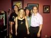DOC, LIZ, PAT McQUEEN, & RICKY NYE at CHEZ NORA (Covington, KY)