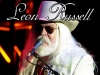 Poster for the LEON RUSSELL Show at BOURBON STREET (April 25th, 2008)