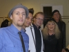 Liz & Doc with SASHA, ALEXI, & DENIS backstage in PARIS, FRANCE (Jan. 18, 2013)