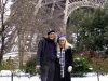 Liz & Doc at the Eiffel Tower in PARIS (Jan. 21, 2013)