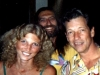 With JOHN HAMMOND at our 1989 show together in Marietta, Ohio