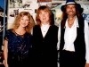 With KIM SIMMONDS of SAVOY BROWN at our show together in 1997