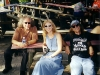 Hanging out with BOB MARGOLIN at Skipper's Smokehouse (Tampa, FL)- November, 2002