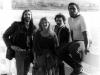 BLUESY ATMOSPHERE promotional photo (1986)- Doc, Liz, Mike Morningstar & Tee Gillis