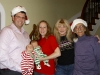 Christmas photo with Drew, Kristen & grandtwins in Huntsville, AL (December, 2012)